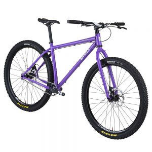 Surly Karate Monkey in Stand Back Purple.