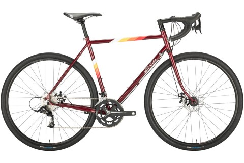 All City Space Horse Disc in red