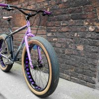 Custom Purple Surly Pugsley