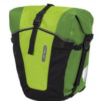 Backroller pro plus front pannier in froggy green