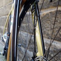 These forks! Phil's custom All City Cosmic Stallion