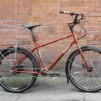 Neil's custom Surly Troll