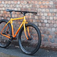 Custom Flat Bar Single Speed All-City Gorilla Monsoon