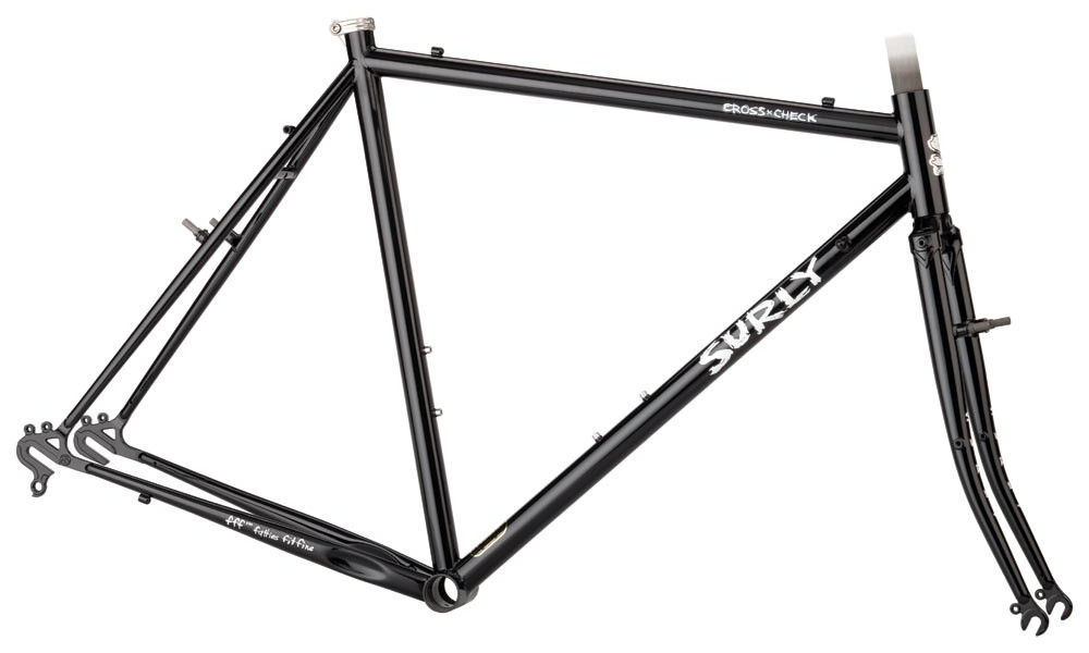 Surly Cross Check frameset in Gloss Black