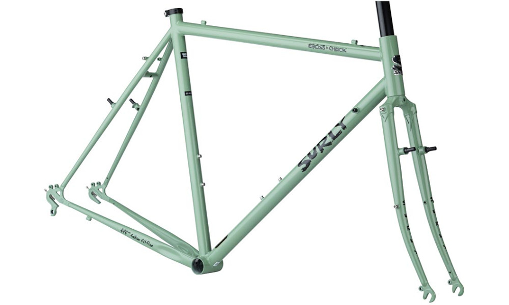 Surly Cross Check frameset in Sage Green
