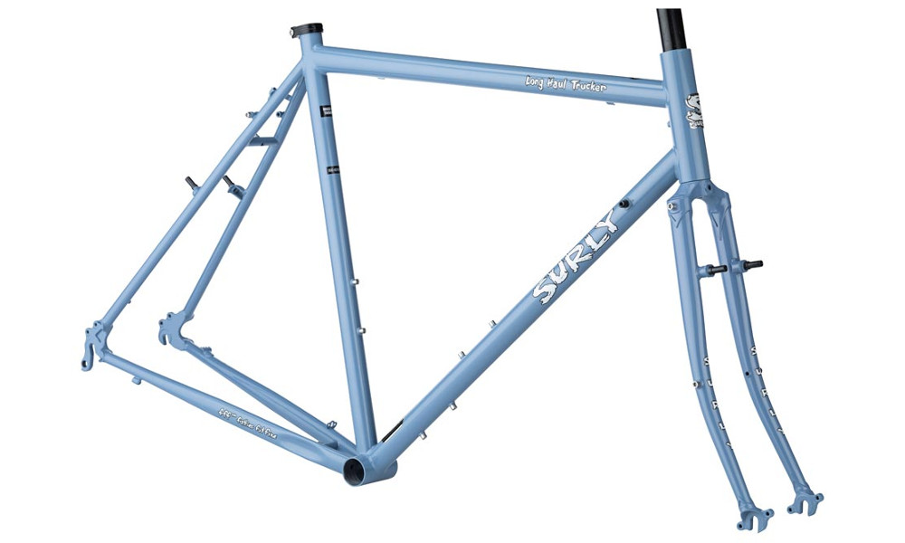 Surly Long Haul Trucker frameset in Blue Suit of Leisure