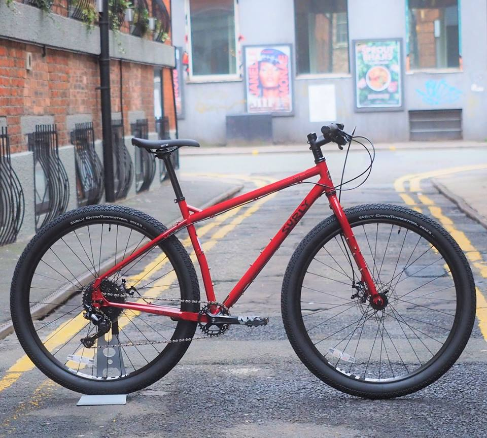 Surly Ogre in Brick Red