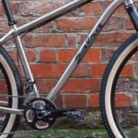 Custom Salsa Fargo in Titanium with Deore XT groupset