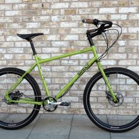 Surly Troll in pea soup green